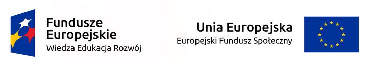 Projekty są współfinansowane przez Unię Europejską ze środków Europejskiego Funduszu Społecznego.