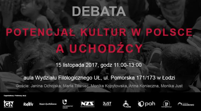 Potencjał Kultur w Polsce a Uchodźcy