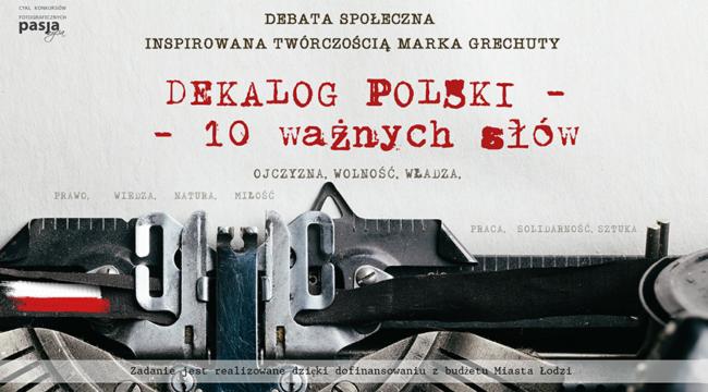 Dekalog Polski - 10 ważnych słów
